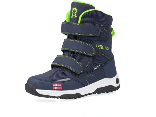 TROLLKIDS Lofoten Winter Boots Kids navy/viper green
